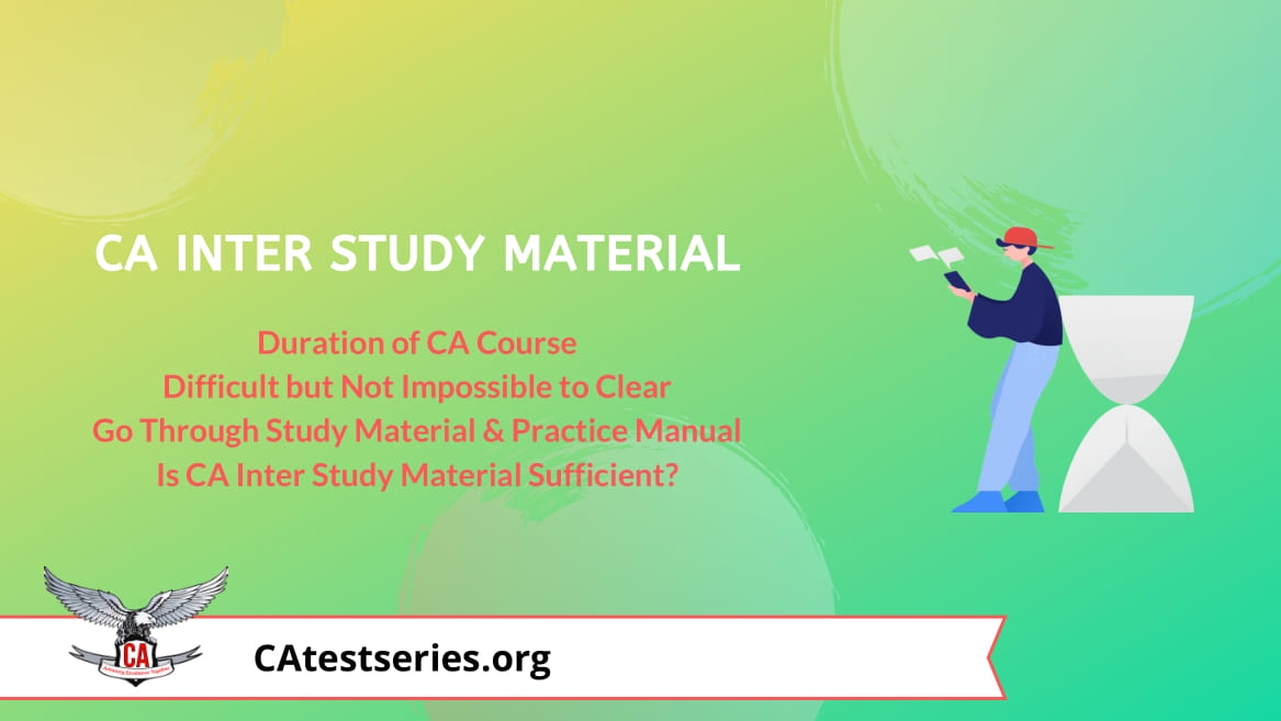 CA Intermediate Latest Study Material for Nov 2020